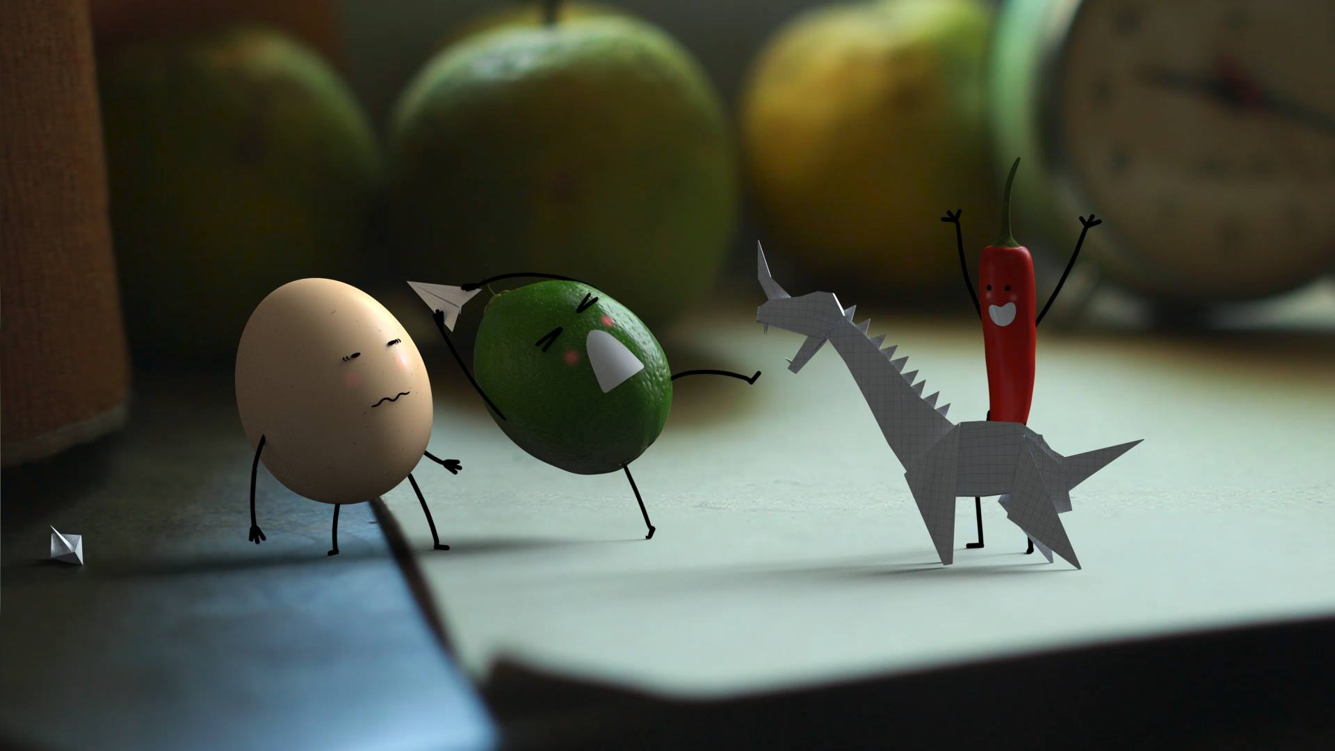The Adventure of Egg, Lime & Chilly: Super Short Film